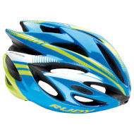 Шлем RUDY PROJECT Rush Blue/Lime Fluo Shiny L (HL570033)