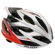 Шлем RUDY PROJECT Windmax White/Red FLuo Shiny S/M (HL522301)