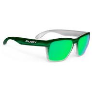 Окуляри RUDY PROJECT Spinhawk Green Streaked w/Polar 3FX HDR Multilaser Green (SP316172-0000)