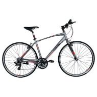 "Велосипед TRINX Free 1.0 Gray/Black/Red 28"""