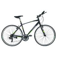 "Велосипед TRINX Free 1.0 Matt Black/Gray/Green 28"""
