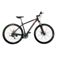 "Велосипед TRINX Majestic M136 Pro Matt Black/Gray/Red 29"""