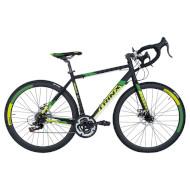 "Велосипед TRINX Tempo 1.1 Matt Black/Green 28"""