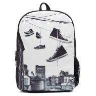 Шкільний рюкзак MOJO Hanging Shoes Black/White