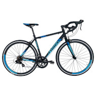 "Велосипед TRINX Tempo 2.0 21"" Matt Black/Blue 28"""