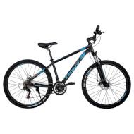 "Велосипед TRINX Majestic M136 Elite 18"" Matt Black/Blue/Gray 27.5"""