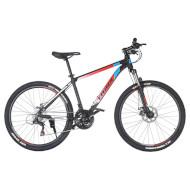 "Велосипед TRINX Majestic M100 17"" Matte Black/Red/White 26"""