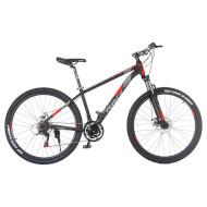 "Велосипед TRINX Majestic M136 Elite 18"" Matt Black/Gray/Red 27.5"""