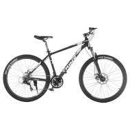 """Велосипед TRINX Majestic M136 Elite 18"""" Matt Black/White/Gray 27.5"""""""