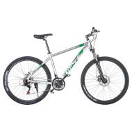 "Велосипед TRINX Majestic M136 Elite 18"" Matt Gray/Green 27.5"""