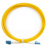 Оптический патч-корд CMS LC-LC Duplex OS2 3м (UPC-3LCLC(SM)D(ON))