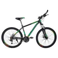 "Велосипед TRINX Majestic M116 17"" Matt Black/Green 26"""
