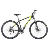 "Велосипед TRINX Majestic M136 Pro Matt Black/Gray/Green 29"""