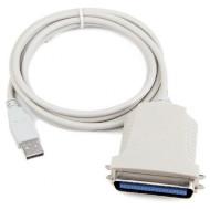 Кабель CABLEXPERT USB - LPT 1.8м (CUM360)
