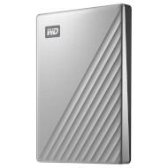 Портативный жёсткий диск WD My Passport Ultra 1TB USB3.0 Silver (WDBC3C0010BSL-WESN)