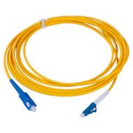 Оптичний патч-корд COR-X LC-SC, SM OS1 9/125, 3м, Yellow (OFPC-SC/UPC-LC/UPC-3)