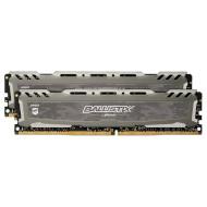 Модуль памяти CRUCIAL Ballistix Sport LT Gray DDR4 3200MHz 16GB Kit 2x8GB (BLS2K8G4D32AESBK)