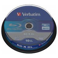 BD-R DL VERBATIM Hard Coat 50GB 6x 10pcs/spindle (43746)