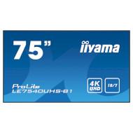 """Информационный дисплей LFD 75"""" IIYAMA ProLite LE7540UHS-B1"""