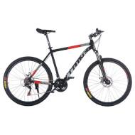 "Велосипед TRINX Majestic M116 Elite 21"" Matt Black/Gray/Red 27.5"""