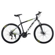 "Велосипед TRINX Majestic M116 Elite 18"" Matt Black/White/Green 27.5"""