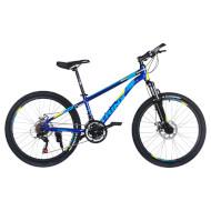 "Велосипед TRINX Majestic M134 Blue/Yellow/Blue 24"""