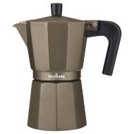 Кофеварка гейзерная MAXMARK MK-106BR