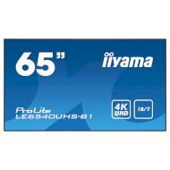 """Информационный дисплей LFD 65"""" IIYAMA ProLite LE6540UHS-B1"""