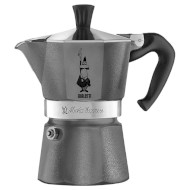 Кофеварка гейзерная BIALETTI Moka Express Emotion Gray 360ml (0005313)