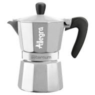 Кофеварка гейзерная BIALETTI Allegra Aeternum Silver 360ml (0006018)