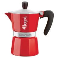 Кофеварка гейзерная BIALETTI Allegra Aeternum Red 180ml (0006014)
