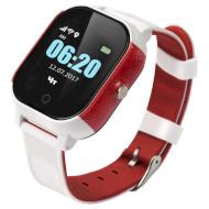 Часы-телефон детские GOGPS K23 White/Red