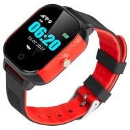 Часы-телефон детские GOGPS K23 Black/Red