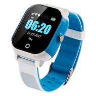 Часы-телефон детские GOGPS K23 Blue/White
