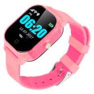 Часы-телефон детские GOGPS K23 Pink