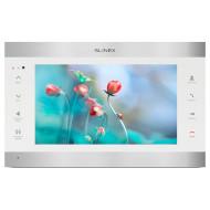 IP видеодомофон SLINEX SL-10IPT Silver/White