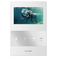 IP видеодомофон SLINEX SQ-04M White