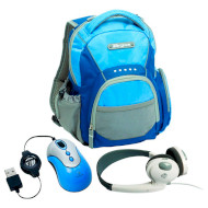 Рюкзак TARGUS My 1st PC Mini Netbook Accessory Bundle Blue/Gray (BUS0183)