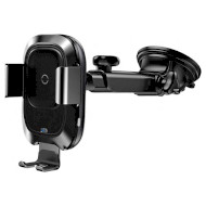 Автодержатель для смартфона с беспроводной зарядкой BASEUS Smart Vehicle Bracket Wireless Charger (WXZN-B01)
