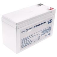Аккумуляторная батарея LOGICPOWER LP-MG 12 - 7.5 AH (12В, 7.5Ач)