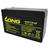 Аккумуляторная батарея KUNG LONG WP7.2-12 (12В 7.2Ач)