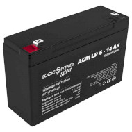 Аккумуляторная батарея LOGICPOWER LP 6 - 14 AH (6В, 14Ач)