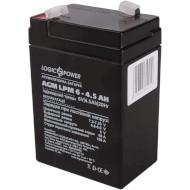 Аккумуляторная батарея LOGICPOWER LPM 6 - 4.5 AH (6В 4.5Ач)