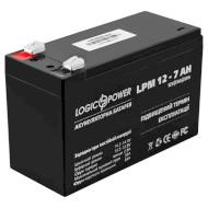 Аккумуляторная батарея LOGICPOWER LPM 12 - 7 AH (12В 7Ач)