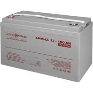 Аккумуляторная батарея LOGICPOWER LPM-GL 12 - 100 AH (12В 100Ач)
