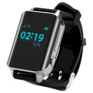 Часы-телефон детские GOGPS M01 Chrome
