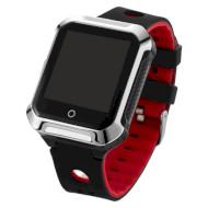 Часы-телефон детские GOGPS M02 Black/Red
