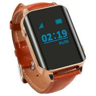 Часы-телефон детские GOGPS M01 Gold