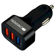 Автомобильное зарядное устройство CANYON CNE-CCA07 Black