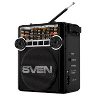 Радиоприёмник SVEN SRP-355 Black (00800007)